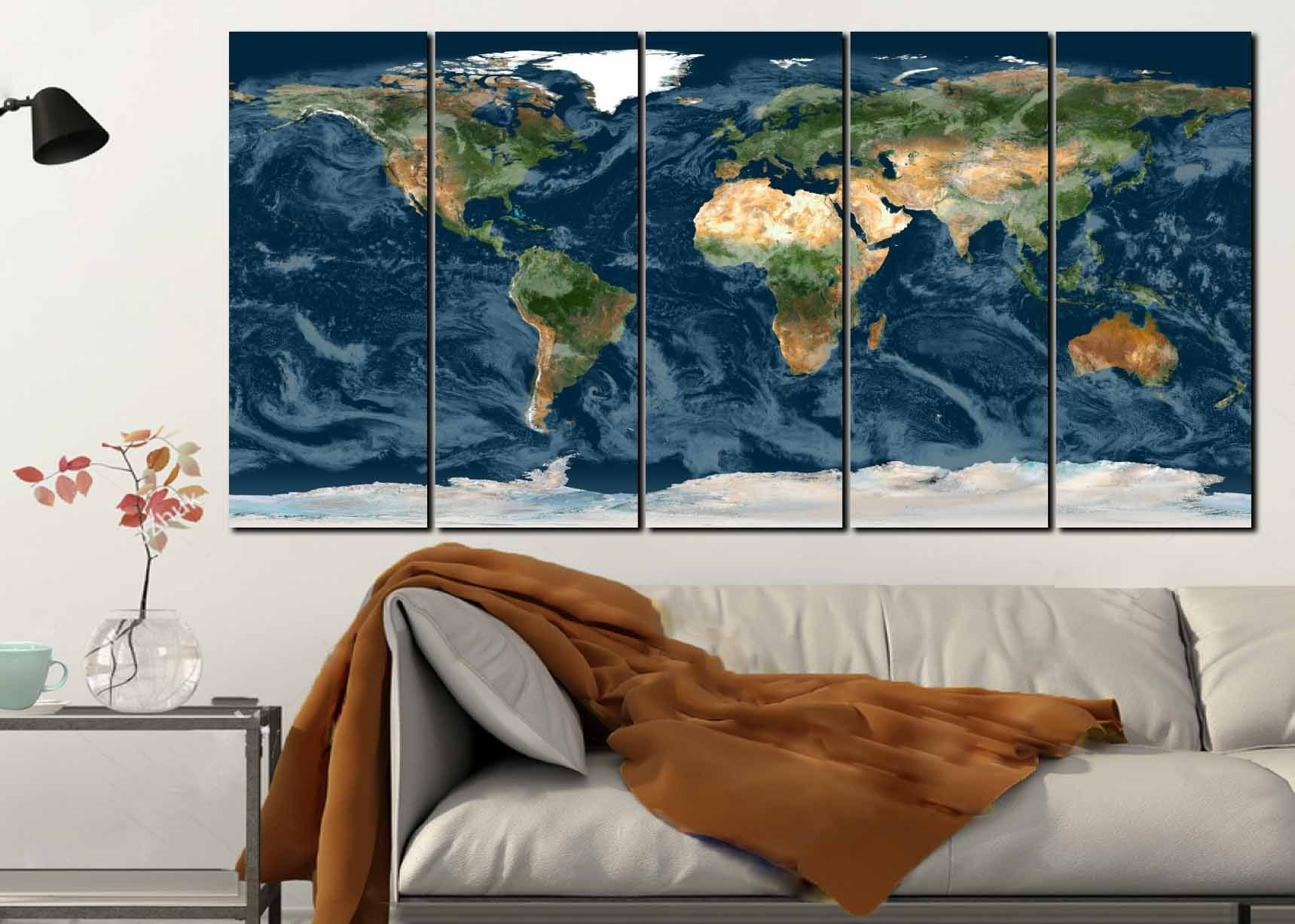 World map wall arttopographical world maptopographical maplarge world map wall arttopographical world maptopographical maplarge world maplarge map artnavy blue world mapworld map canvasmap print gumiabroncs Image collections