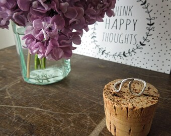 Handmade Sterling Silver Wave Ring / Beach Jewellery / Ocean Ring / Summer / Nautical / Custom Made