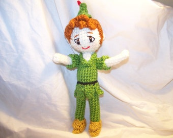Crochet Peter Pan doll or Tinkerbell