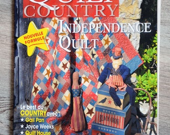 Quilt Country 44 - Independence Quilt magazine