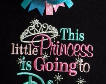 Disney, This little Princess is going to Disney 2018  shirt , can be personalized with year Great Vacation pictures, special Keepsake