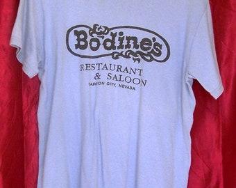 Vintage T Shirt Bodine's Restaurant & Saloon
