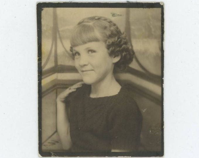 Vintage Arcade/Photo Booth c1930s-40s: Sweet Girl [81645]