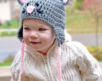 Crochet Pattern for Resale - Mouse Hat