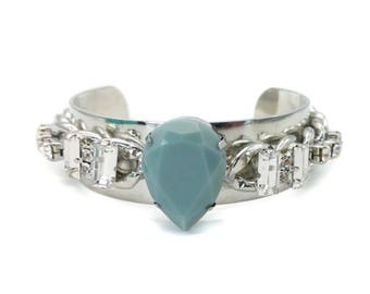 Statement cuff bracelet, boho bracelet cuff, bohemian jewelry, bracelet cuff, silver bangle cuff, bracelets for men, bohemian jewelry,