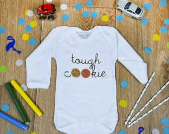 Cute Baby Onesie, New Baby Gift, Funny Baby Onesie, Baby Shower Gift, Going Home Outfit, Tough Baby, Baby Hospital Outfit, Infant Clothing