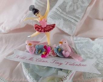 Tiny Dancer Valentine Ballerina Heart Box