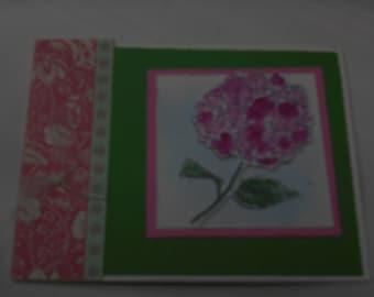 Fun Womans Card Wonderful Flower