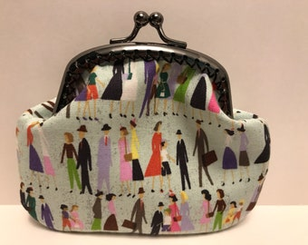People Watching Coin Purse