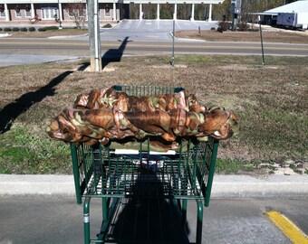 fleece shopping cart cover