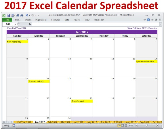 Qt Weekly Calendar : Excel calendar template monthly and