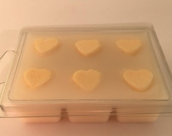Designer Fragrance soy melts, wax tarts, clamshell melts, Birthday gift for her, Mothers day gift, clamshell wax melt