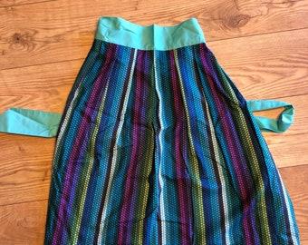 Quirky Hippy Short Ladies Apron