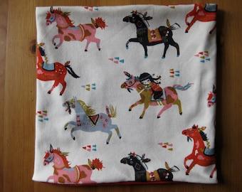 Bio Halssocke horses, spring, loop, kids, baby, horses, pony, organic