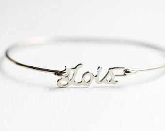 Vintage Name Bracelet - Lois