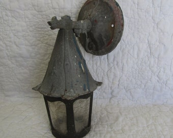 Vintage Outdoor House light  Gothic Style Very Nice