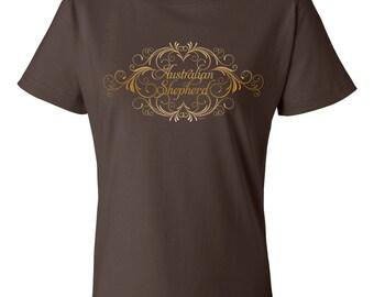 Elegant Australian Shepherd Garment Dyed Cotton T-shirt