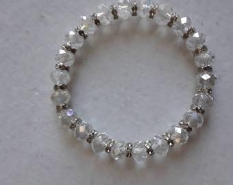 Crystal clear sparkle bracelet