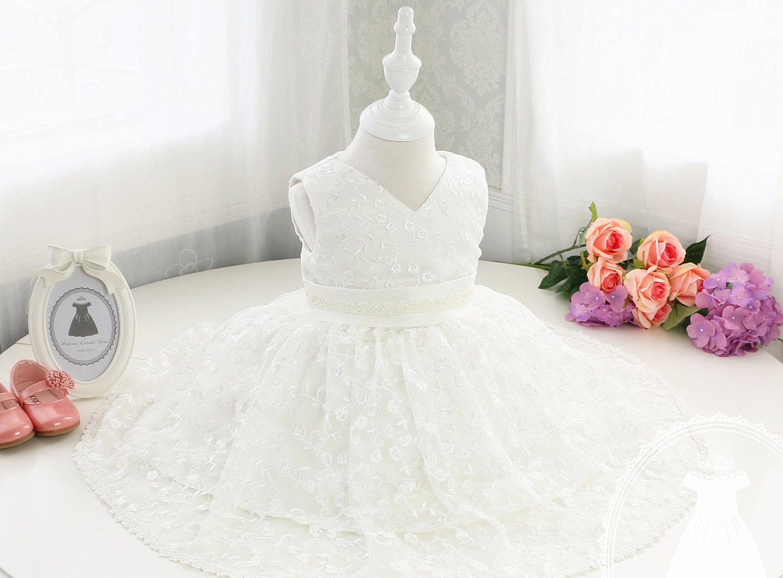 Baby First Communion Dress Baptism Dress Christening Dress