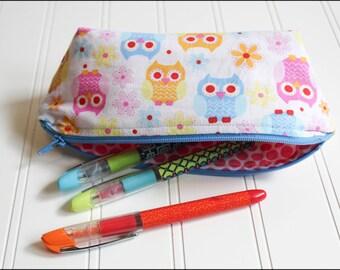Sweet Owls Pencil Case