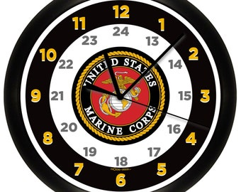US Marine Corps Wall Clock