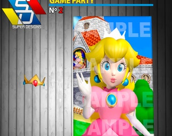 Super Mario Party Game, party game, pin game, pack party, party supply