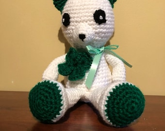 St Patrick's Day Teddy Bear