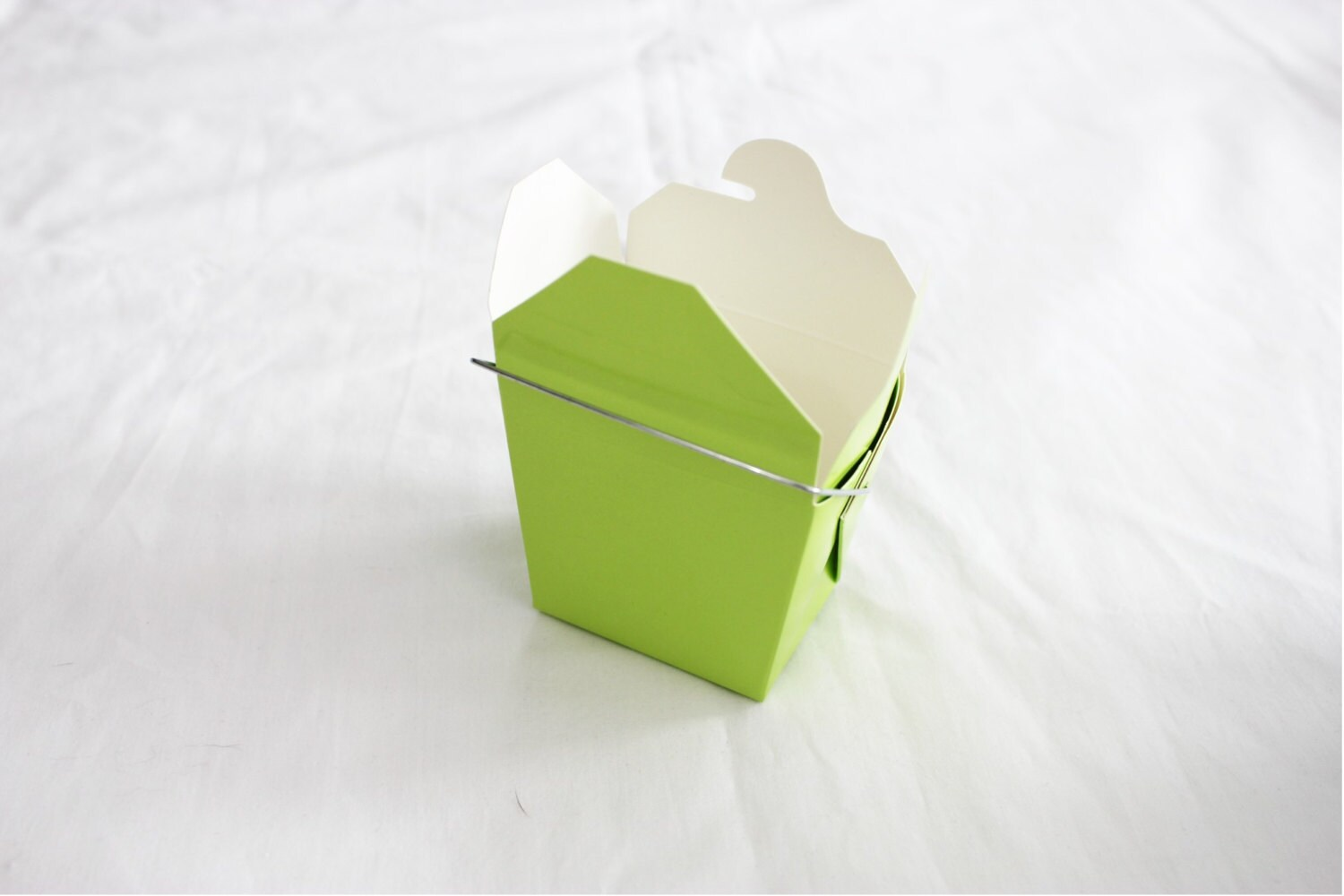 25 Small Neon Green Chinese Take Out Boxes for Party Favors or more ...