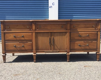 Gorgeous Vintage Buffet Credenza Server Dresser