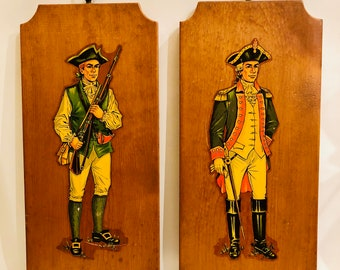Set Of Two Soldiers