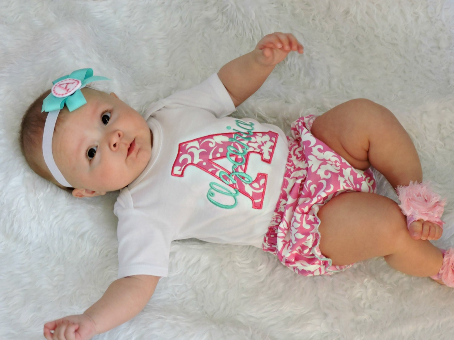 Personalized baby girl clothes newborn girl take home outfit zoom negle Image collections