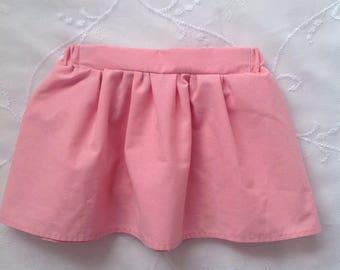 Dusky Pink Girls Skirt