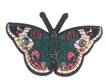 Old school tattoo butterfly patch