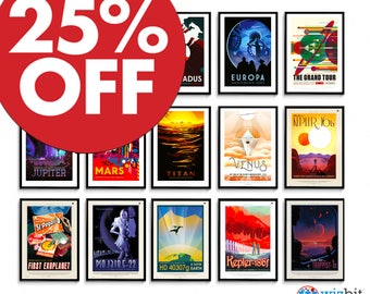 NASA Space Travel Prints / Posters Pick and Mix - Highest Quality in the Galaxy, Guaranteed!