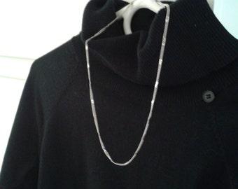 Vintage Double Strand Sterling Necklace