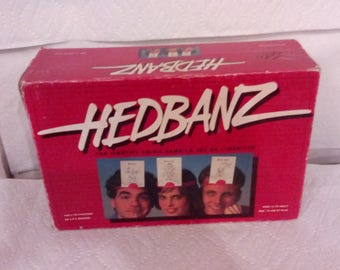 Vintage  HEDBANZ Identity Crisis Game - 1991 - The Games Gang Limited, Complete