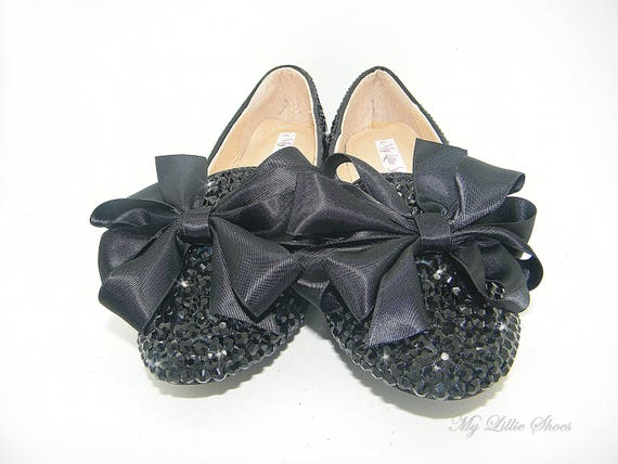 of Bridesmaid ~ Birthday 16 girl Sweet 4th Bride the Prom July Mother Shoes Event ~ Graduation Flats Bling Flower Work Wedding vHq8wp8d