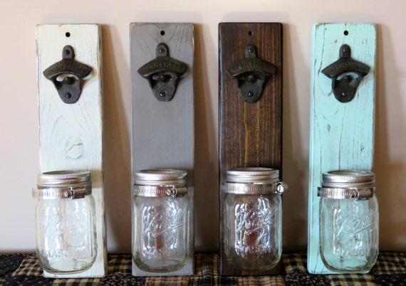 Mason Jar Bottle Opener Beer Bottle Opener Barware Gift For