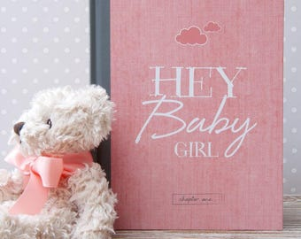 Baby Journal And Memory Book For Girls