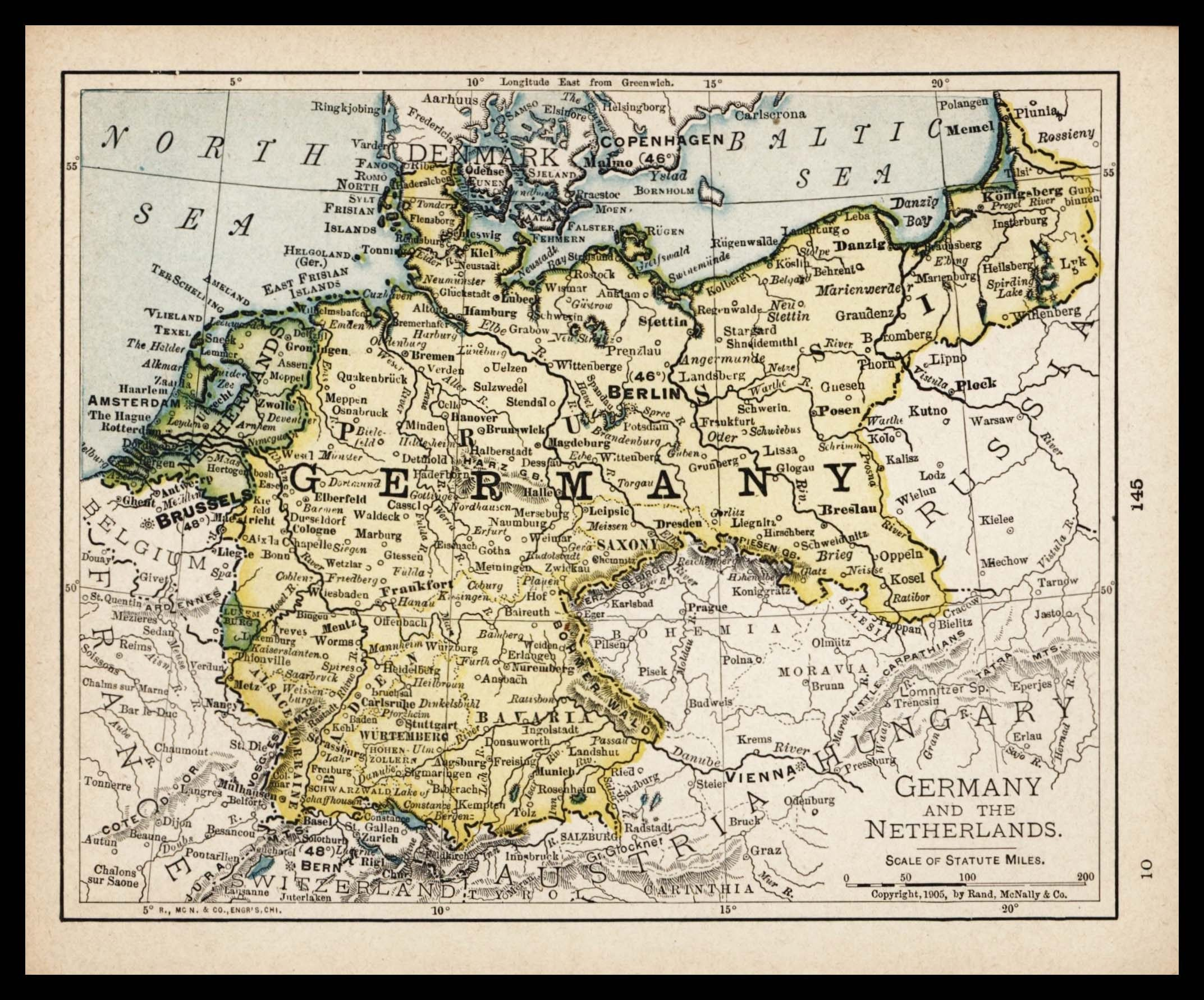 Small Map Of Germany Map Of Netherlands Map Antique Wall - Netherlands germany map