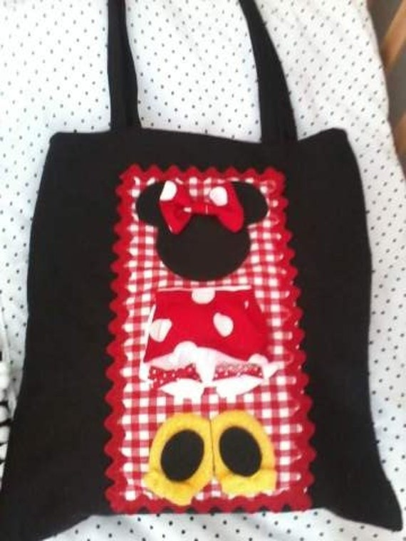 Minnie Mouse Tote Diaper Bag