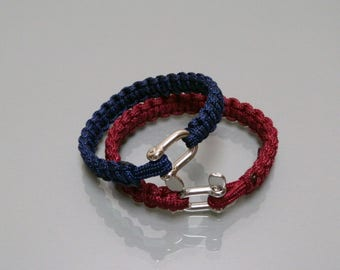 Bracelet with a 3 mm Manila paracord