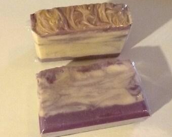 Lavender Fields Scent Cold Process Soap