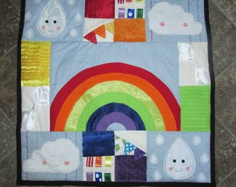 Rainbow Tummy Time Mat