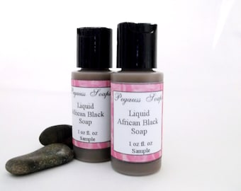 Sampler Size  Liquid Black Soap Sampler 1 oz