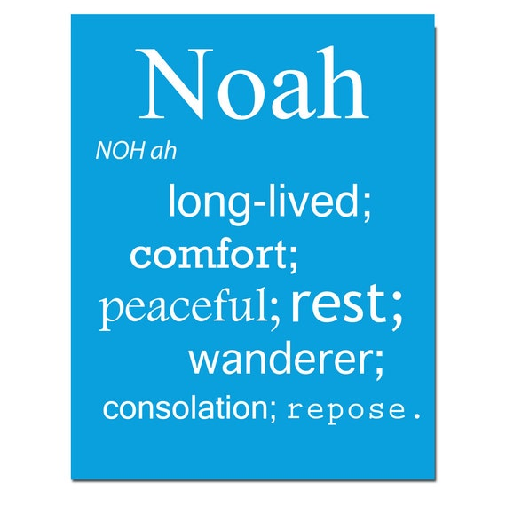 Baby name meaning print 8x10 modern nursery art great like this item negle Choice Image