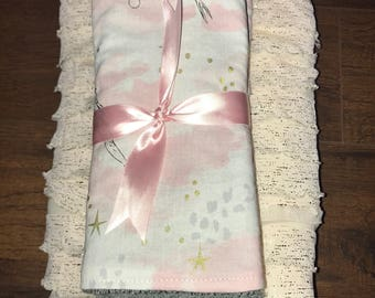Burp Cloth & Blanket Gift Set