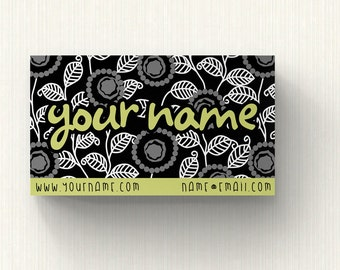Business Cards  Custom Business Cards  Personalized Business Cards  Business Card Template  Modern Business Cards  Damask Business Card M1