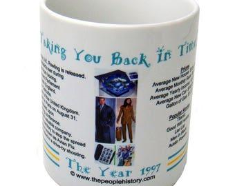 1997 Year In History Coffee Mug - 21st Birthday