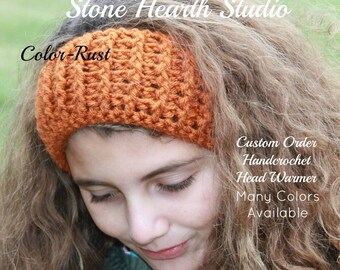 Crochet Head Warmer!Select Your Color & Size,Handmade,Girls Head Warmer,Womens Head Warmer,Stylish Ear Warmer,Buy More and Save!Great Gift!